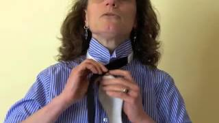 how to tie a bow tie easy step by step bow tying lesson from bowtie com