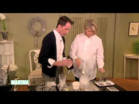 Setting Up A Home Bar Martha Stewart YouTube
