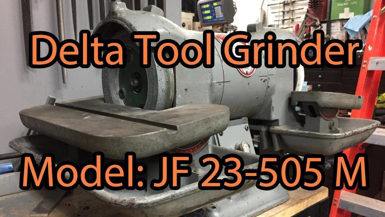 Repairing A Delta Bench Tool Grinder Model Jf 23 505 M