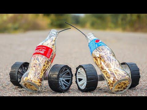 Experiment : Coca Cola vs Pepsi (Matches test)
