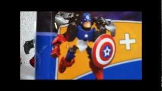 Lego Capitán América Ultrabuild 4597 K.o. Review En Español