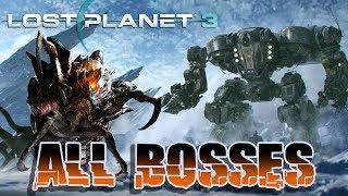 Lost Planet 3 - All Bosses + Ending