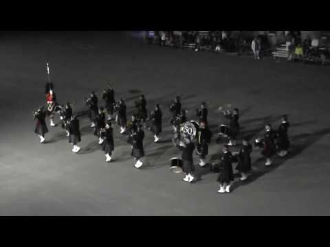 Commissioner&39;s Own Pipes and Drums at Fort Henry Tattoo Kingston Ontartio