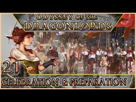 Celebration & Preparation - Odyssey of the Dragonlords - Roll20 - 5e Dungeons & Dragons - EP 21 from YouTube · Duration:  3 hours 1 minutes 44 seconds