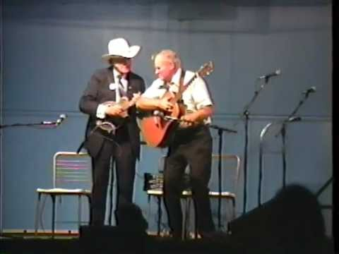 Very Rare  Bill Monroe & Doc Watson Video - What Would You Give In Exchange  - 1990