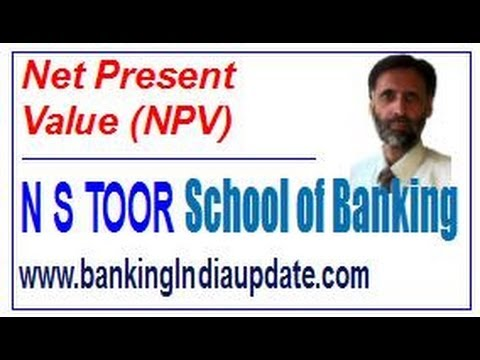 NPV - Net Present Value with Example