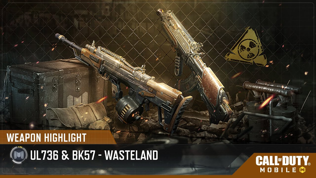 Weapon Highlight: UL736 & BK57 - Wasteland - Garena Call of Duty Mobile Indonesia
