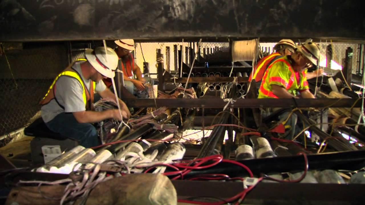 Lawrence  Ma Bridge Fire Verizon Restoration 2012