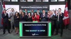 Structured Finance Industry Group open Toronto Stock Exchange, May 16, 2018