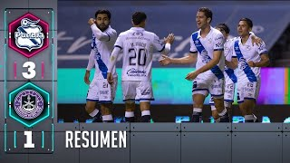 Puebla 3-1 Mazatlán | Resumen | Liga BBVA MX