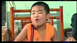 Hài Việt hương, Bé Châu, cha dượng dạy con p2