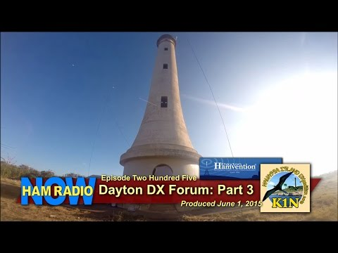 HRN 205: Dayton DX Forum Part 3 - K1N Navassa on HamRadioNow