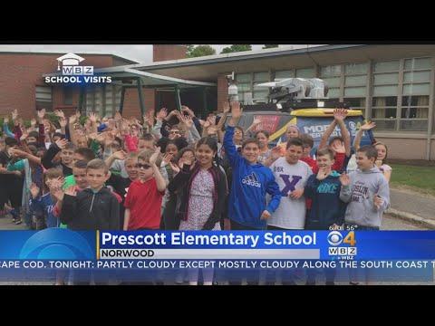 WBZ Weather Team School Visit: Prescott Elementary