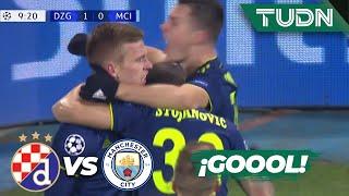 Goool ¡Metió un bombazo! | Dinamo 1 - 0 Man. City | Champions League - J 6 - Grupo C | TUDN
