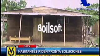 Habitantes de Delta Amacuro exigen mejoras en servicios públicos