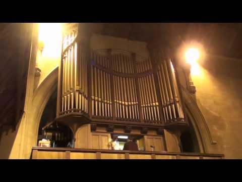 """""""O Come All Ye Faithful"""" - All Saints Church Oystermouth Swansea"""
