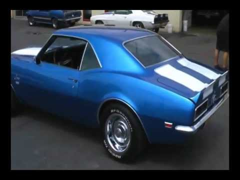 Car Sale Contract >> Restored 1968 Camaro RS/SS 396 Show Car For Sale! - YouTube