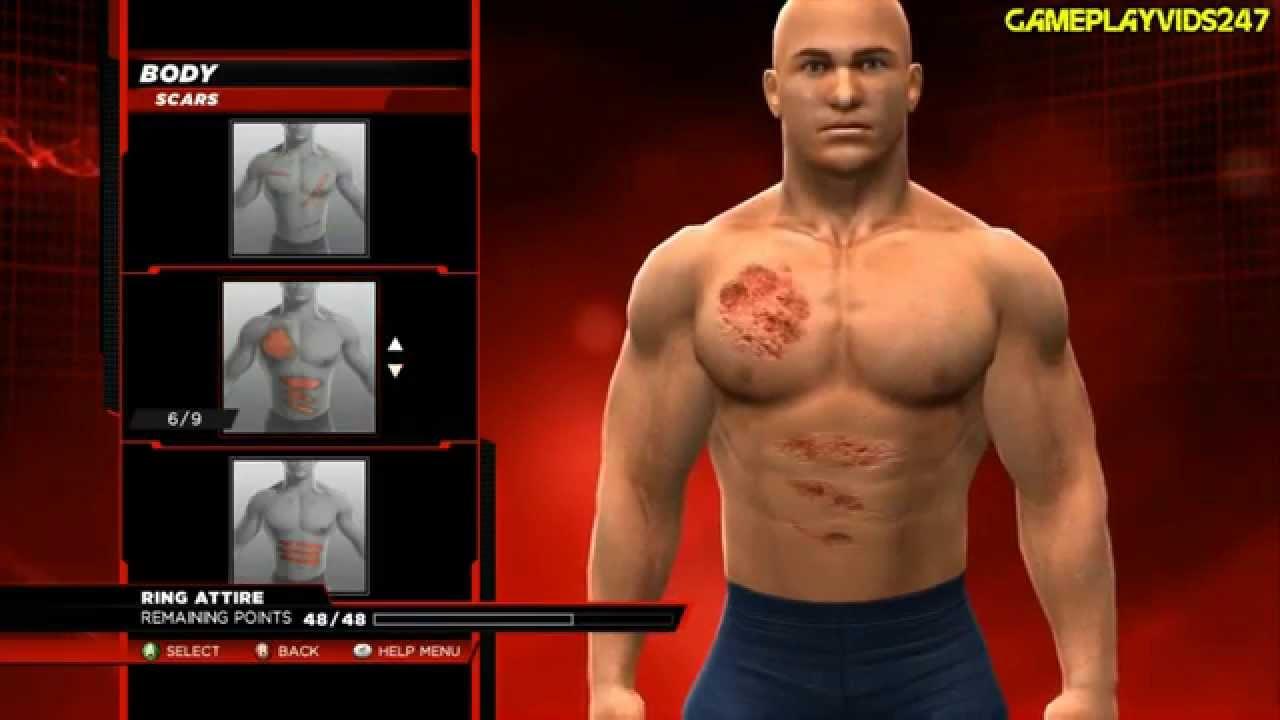 Bodymeasurementswwenaomi: WWE 2K14: Create A Superstar Complete Showoff