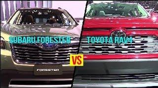 2019 Subaru Forester VS 2019 Toyota RAV4 - Who is The King?
