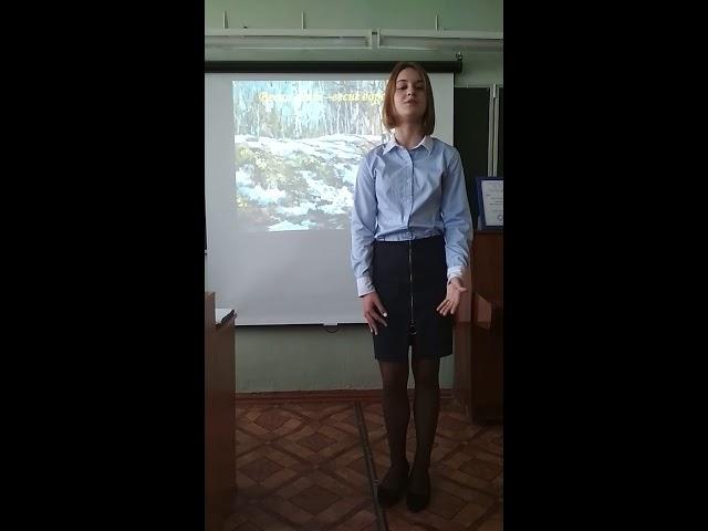 Изображение предпросмотра прочтения – ДарьяБелова читает произведение «Пришла весна» Л.Н.Толстого