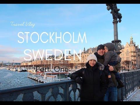 TRAVEL VLOG: STOCKHOLM SWEDEN Part One // Dec 23-24, 2018