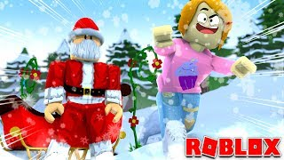 Roblox Escape Santa's Christmas Workshop!