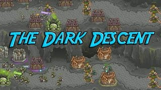 Kingdom Rush Frontiers - The Dark Descent - Veteran 3 Stars