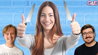 Should My Mom Leave Her Knives Out? - The Gus & Eddy Podcast