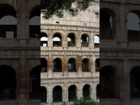 The ancient Roman Coliseum