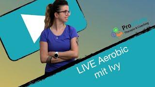 LIVE Aerobic mit Ivy 19.05.20