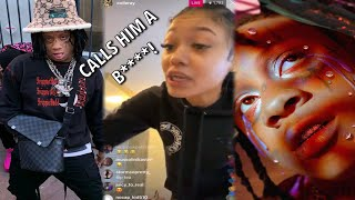 Gambar cover Trippie Redd's New Album GOT Coi Leray HEATED! | A Love Letter To You 4