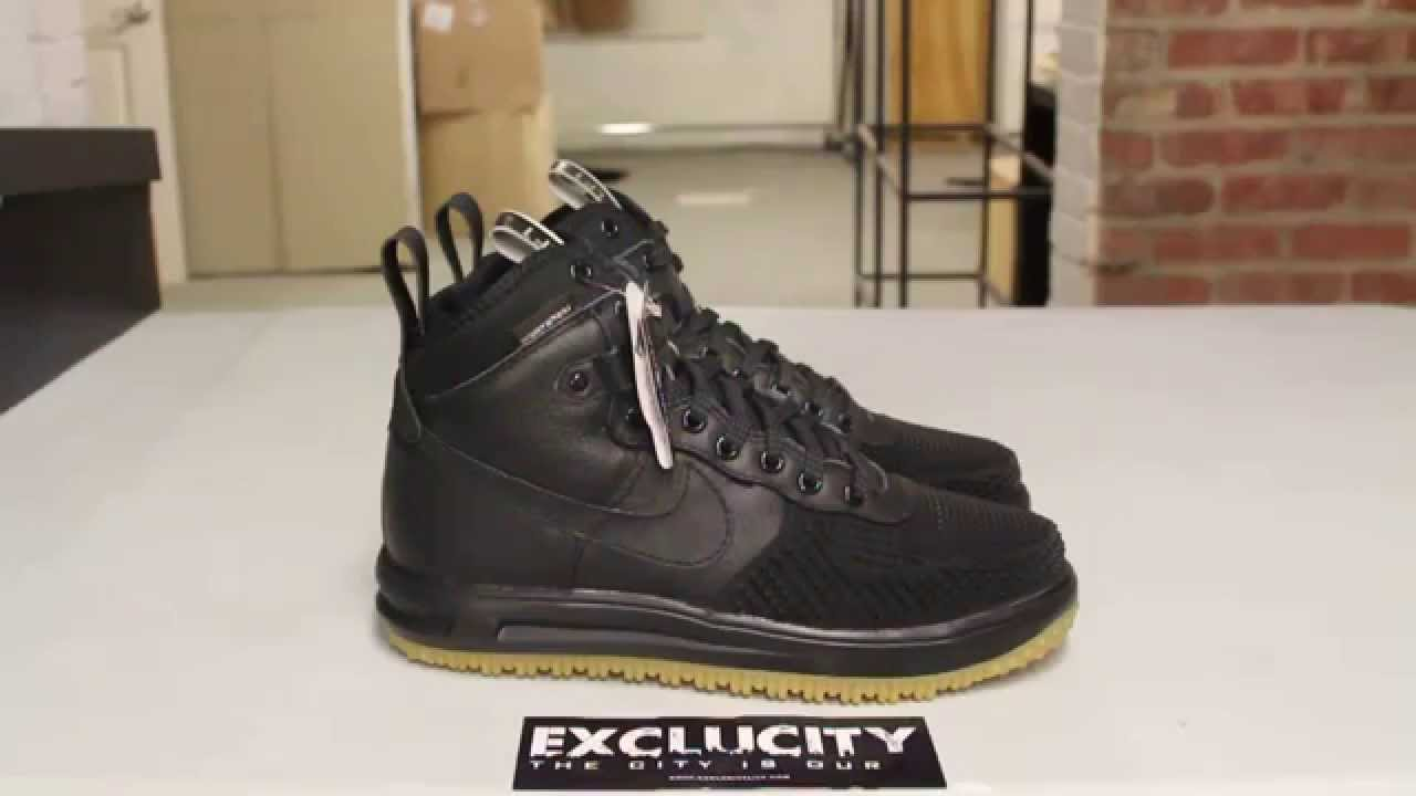 super popular d19ca 8ca5a Nike Lunar Force 1 Sneakerboot - Unboxing Video at Exclucity - YouTube