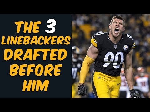Who Were The 3 Linebackers Drafted Before TJ Watt? Where Are They Now?