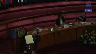 Conferencia magistral del Presidente de Ecuador Rafael Correa