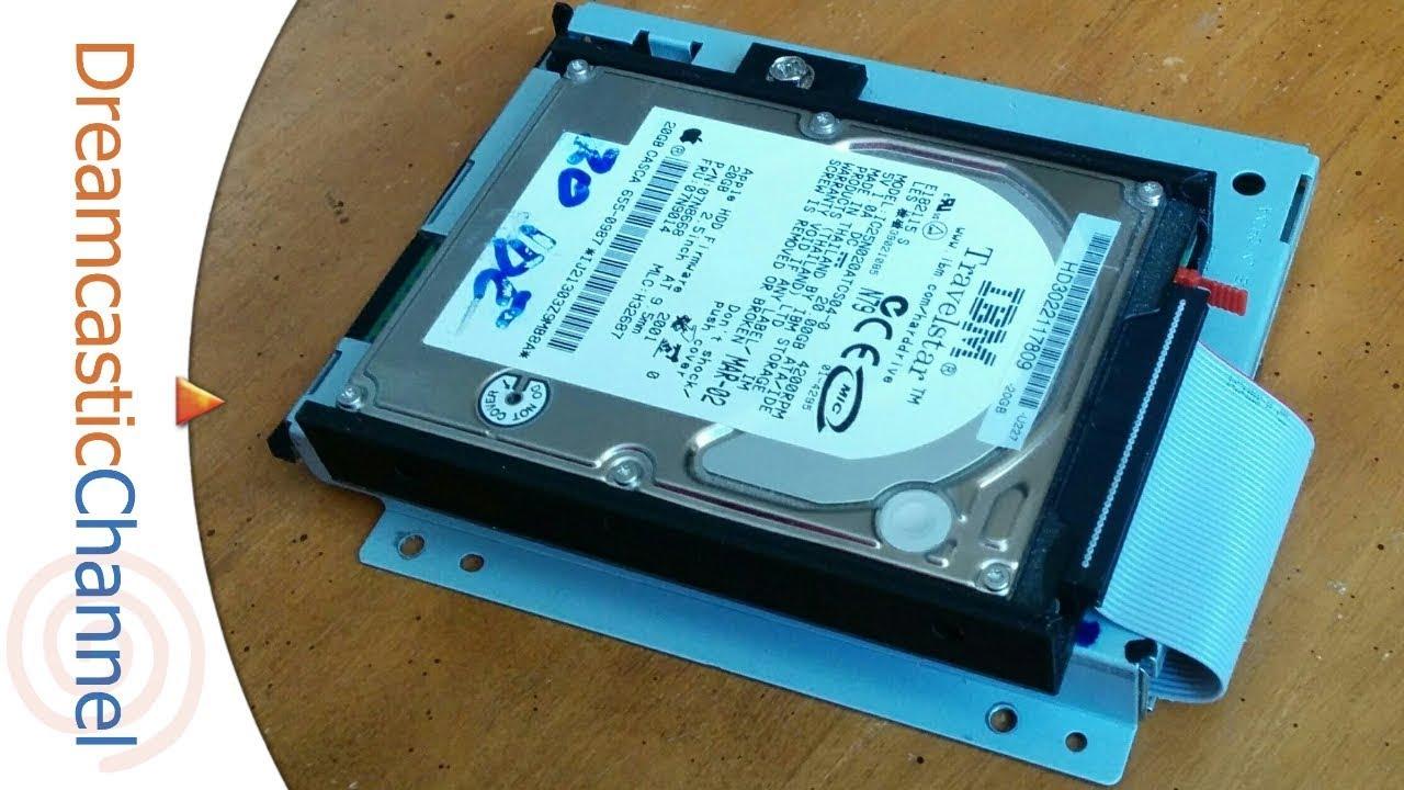 Dreamcast Plug-N-Play IDE Hard Drive Mod