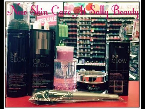 BRAND NEW SKIN CARE PRODUCTS AT SALLY BEAUTY!!