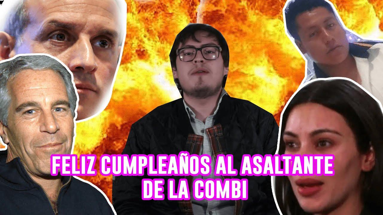 ¡FELIZ CUMPLEAÑOS AL ASALTANTE DE LA COMBI! - POR FIN DOMINGO! Con Emile Gómez