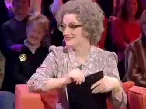 Debbie McGee on Mrs Merton