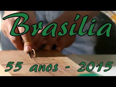 Brasília, 55 anos - Vídeo muito Legal.