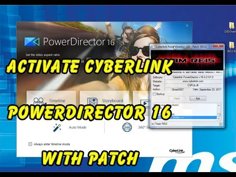 Activating CyberLink PowerDirector Ultimate 16 and H265 Codec with Patch | Lesson 8 | Nicky-Tech