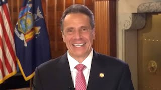 The governor of new york appeared on 'tonight show: home edition' with jimmy fallon wednesday and opened up about spending time his girls.exclusi...