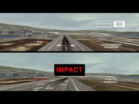 Former pilot's animation re-creates Saturday's SFO crash