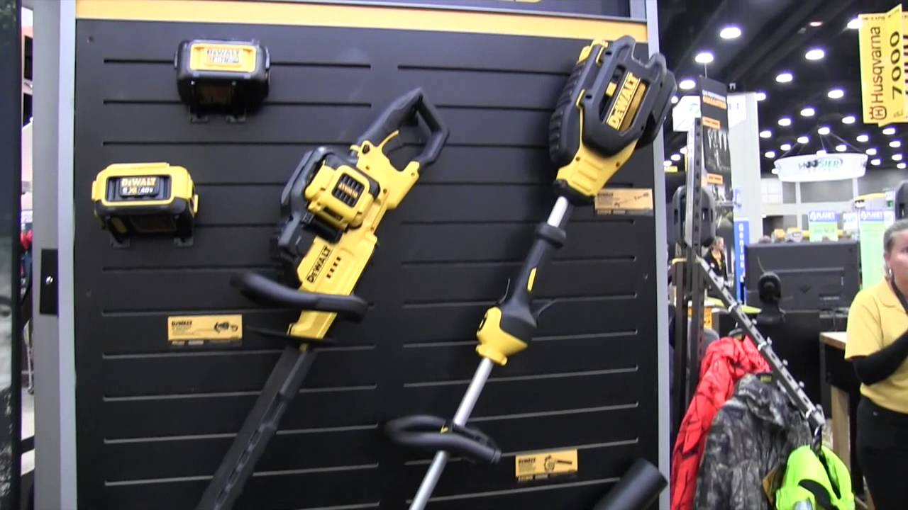 Dewalt Gas Performance 40 Volt Yard Tools By John Young of the