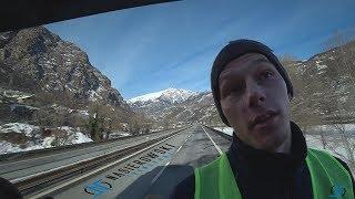 #TransportSieNieOplaca #4 LAZUROWE WYBRZEZE, TUNEL MONT BLANC, Francja, Włochy itd.. - NASIEROWSKI