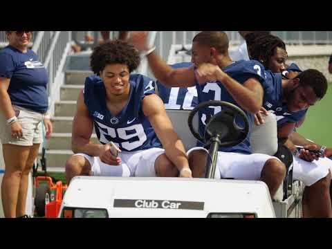 Inside Penn State football's photo day