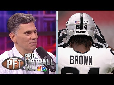 PFT Overtime: How will Antonio Brown mesh with Bill Belichick? | Pro Football Talk | NBC Sports