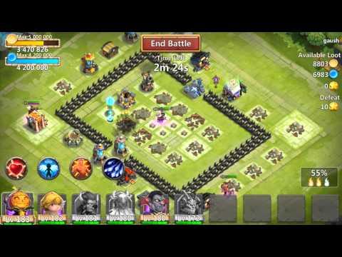 Castle Clash Testing Out 5/5 Heavens Wrath