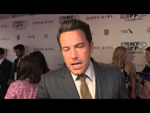 "Gone Girl: Ben Affleck ""Nick Dunne"" New York Movie Premiere Interview"