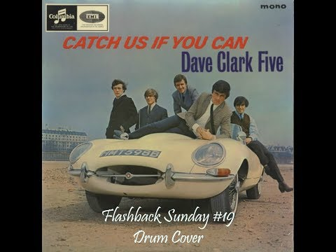 The Dave Clark Five - Catch Us If You Can Drum Cover