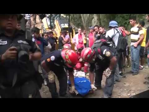 Frantic search for 200 missing after Guatemala landslide